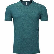 1809 футболка для тренировок с изображением голубого озера