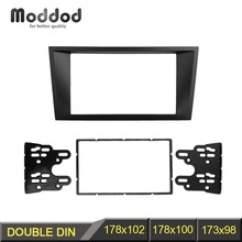 Double Din Fascia For FORD Mondeo 2002-2006 CD Facia Stereo Panel Dash Mount Install Trim Kit Refit Frame free shipping good new double din fascia for renault logan tondar cd facia stereo panel dash mount install trim kit refit frame
