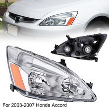 Car Headlights Waterproof Durable Right Side Headlight for 2003-2007 Honda Accord Light