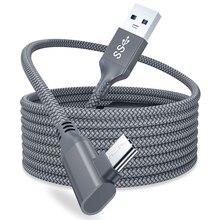 5M 2M Data Lijn Voor Oculus Quest 2 Link Headset Usb 3.0 Type C Data Oplaadkabel Overdracht type C Om USB A Cord Vr Accessoires