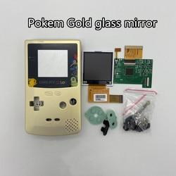 GBC LCD de alto brillo y carcasa nueva para Gameboy Color, pantalla LCD GBC