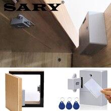 Serrure darmoire à capteur Intelligent sans RFID, serrure de porte à tiroir Invisible pour armoire à chaussures, EMID125K