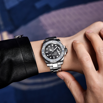 PAGANI Design Men Automatic Watch Sapphire Luxury Mechanical Wristwatch Stainless Steel Waterproof Watch Men Mekaniska klockor 4