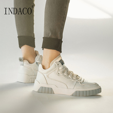 Womens Sneakers Woman Shoes High Top Casual 6cm