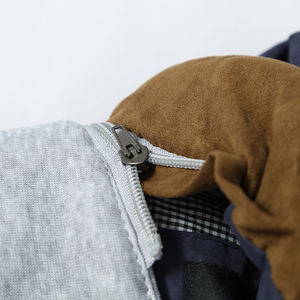 Image 5 - 2019 Degli Uomini Della Maglia Giubbotti Autunno Inverno Panciotto Caldo casual Con Cappuccio Senza Maniche Della Maglia Cappotti degli uomini di Modo di spessore parka gilet
