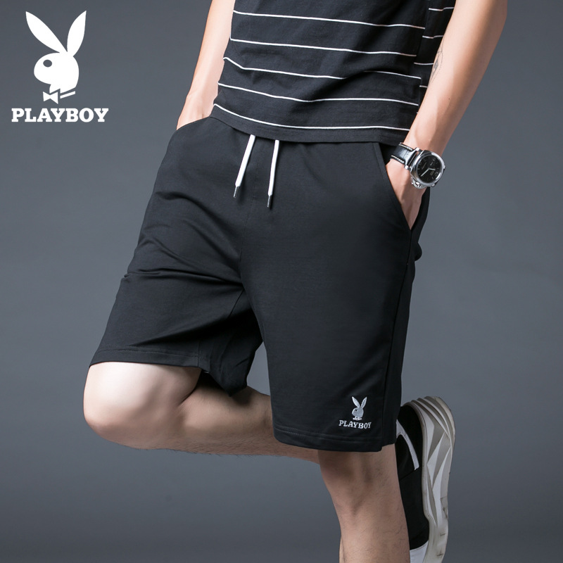 PLAYBOY Casual Shorts Men's Wear 2019 Summer New Style Trend Shorts Shorts