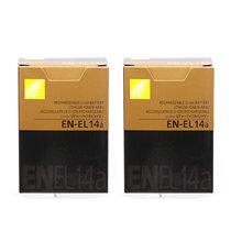 Batterie de caméra EN-EL14a pour Nikon EN-EL14a EN-EL14, 2 pièces, DF D5300 D5200 D5100 D3300 D3200 D3100 P7100 P7700 P7800 P7000