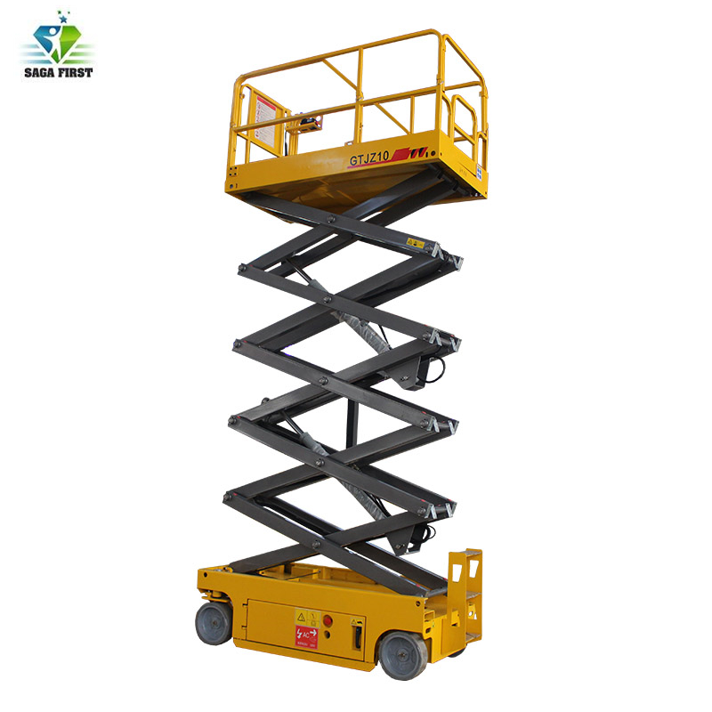 4m-18m Self Propelled Electric Mobile Scissor Lift Platform With CE ISO
