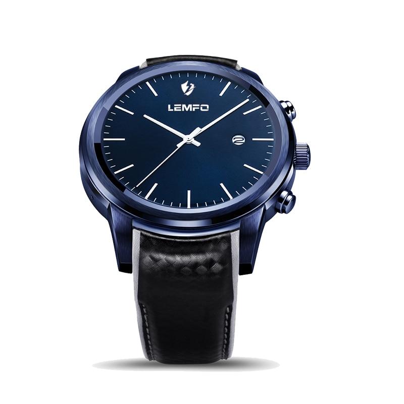 LEM5 MTK6580 3G GPS Relógio Inteligente Android 5.1 Whatsapp Tela AMOLED WI-FI Cartão SIM Smartwatches Homens Esporte reloj inteligente relógio