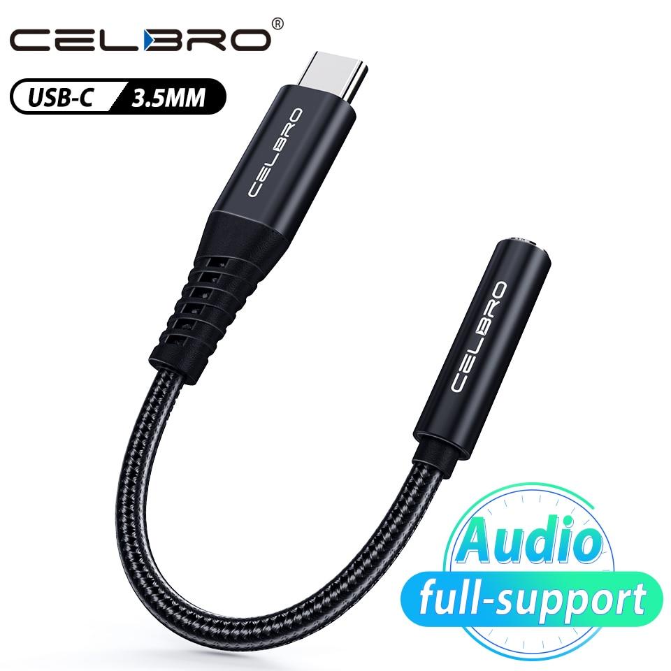 Адаптер для наушников с разъемом Usb Type-C на 3,5 мм, аудиокабель для Oneplus 8t 8 Samsung S20 Plus Ultra Google Pixel 5