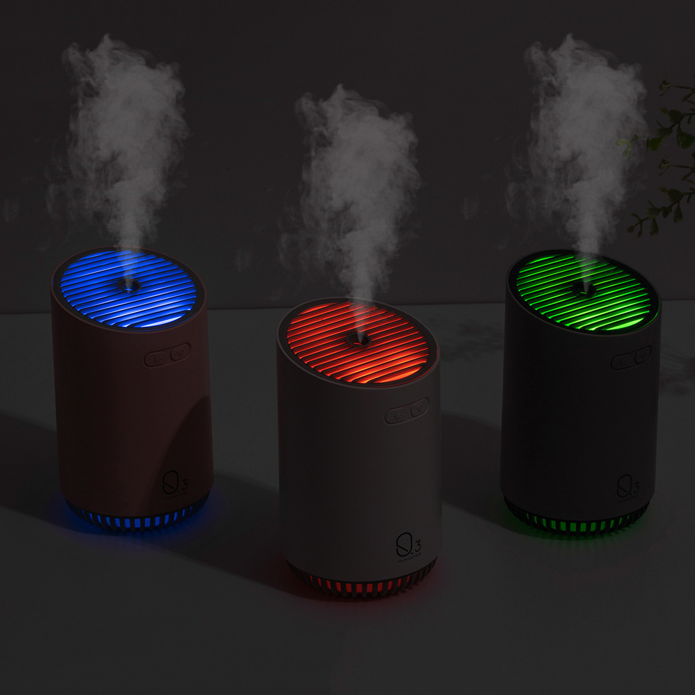 Mini Air Humidifier Rechargeable Diffuser USB Aroma Essential Oil Diffuser 320ML Battery Humidificator Car Air Purifier Maker