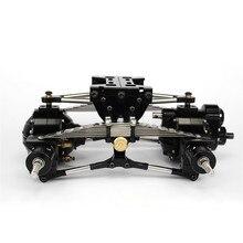 TAMIYA – ensemble de Suspension arrière en métal pour camion 1/14 RC, pièces de mise à niveau pour modèle de voiture, bricolage