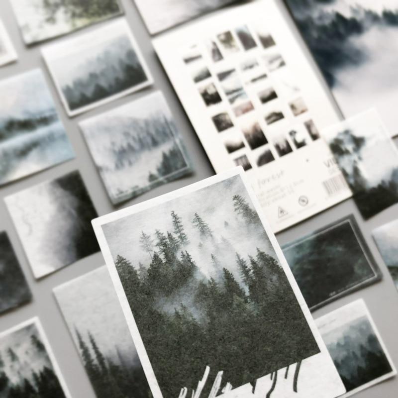 50 pcs/lot Beloved Van Gogh series Journal Decorative Stickers Scrapbooking Stick Label Diary Album