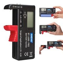 Digital Battery Tester BT-168 PRO Digital Battery Capacity Tester LCD BT-168 PRO Checker for 9V 1.5V AA AAA Cell C D Batteries
