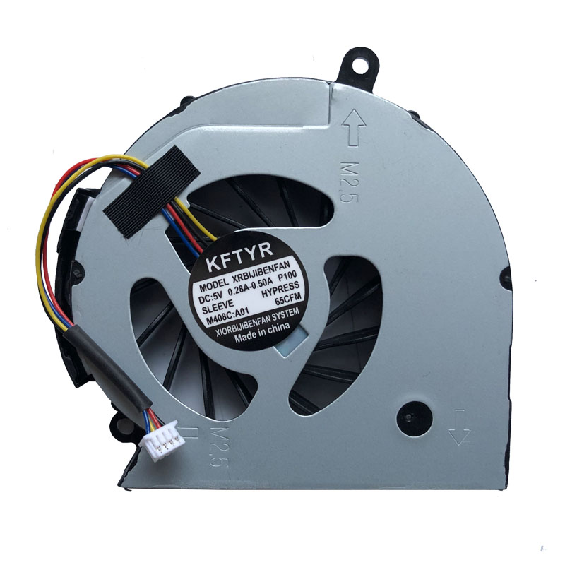 NEW laptop fan FOR HP Pavilion 14 15 14-D 15-D 240 g2 250 g2 747241-001 747242-001 747266-001 laptop CPU cooling fan cooler(China)