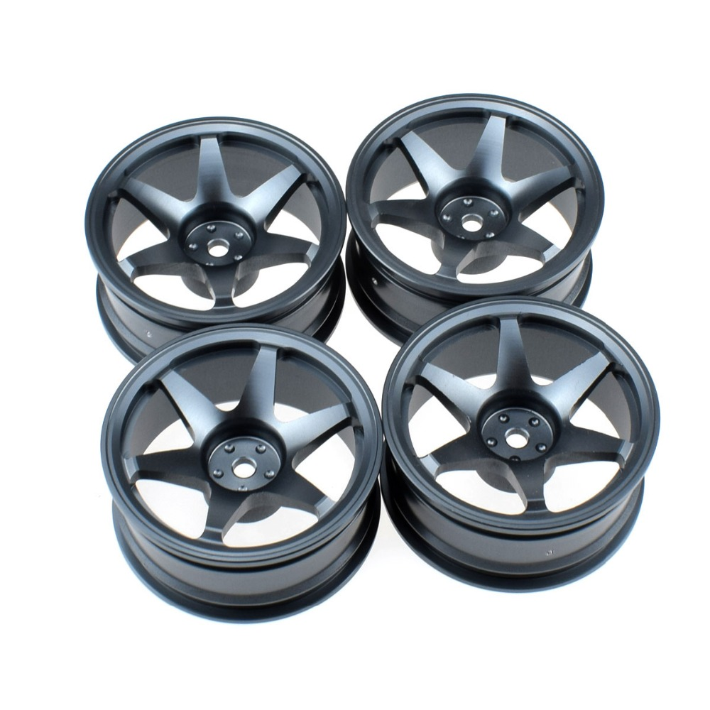 <font><b>1/10</b></font> <font><b>RC</b></font> Aluminum Alloy <font><b>Wheel</b></font> Rim for Tamiya TT01 Sakura HSP HPI Kyosho <font><b>Drift</b></font> On Road Car image