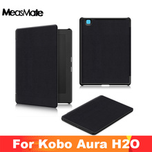 Smart Magnetic cover stand case for 2017 Kobo aura H2O edition 2 6.8
