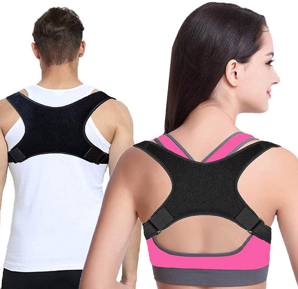 2020 New Posture Clavicle Support Corrector Back Straight Shoulders Brace Strap Correct Bone Care Posture Clavicle Support Belt(China)