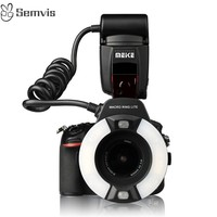 Meike Camera Flashes MK 14EXT Ring Macro Flash TTL Ring Camera Flashes for Canon Nikon Camera Flashes Photography