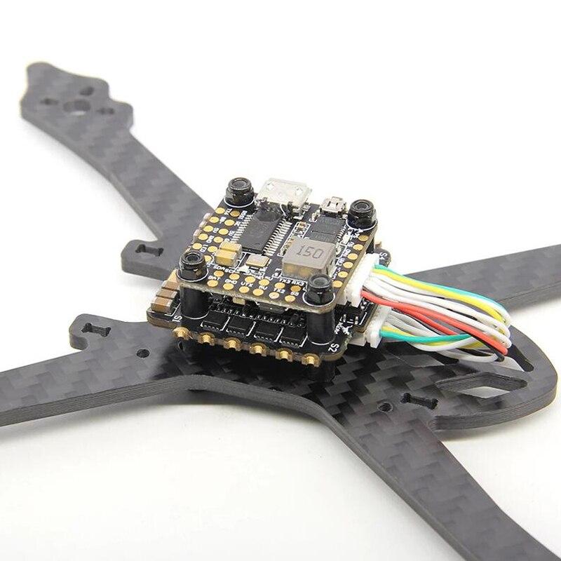 HGLRC FD435 стек FD F4 мини Контроллер полета 35A Blheli 32 3 6S 4 в 1 ESC 20x20 мм для радиоуправляемого дрона FPV гоночные мультироторные детали - 4