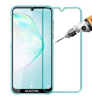 Перейти на Алиэкспресс и купить Закаленное стекло для OUKITEL K13 c16 c15 C12 C13 U23 C11 K9 K12 Y1000 C17 Pro Защитное стекло для экрана 2.5D Премиум Защитная пленка