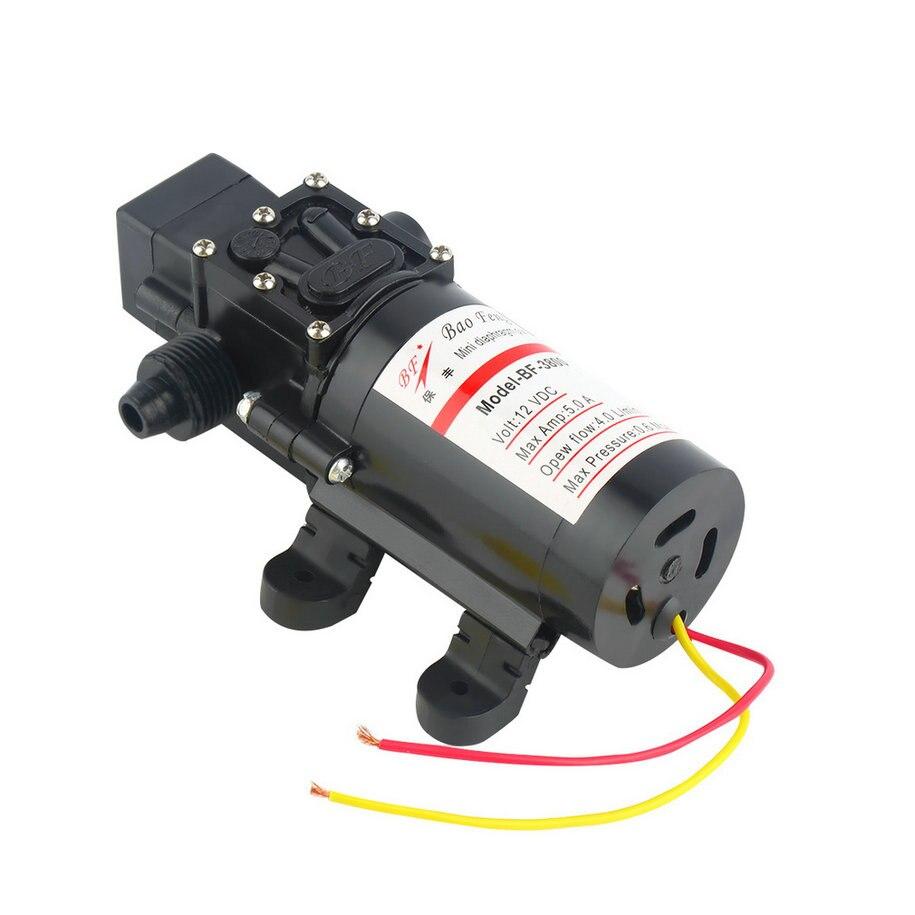 OPHIR RV /Marine 12V DC 60W Demand Fresh Water Diaphragm Self Priming Pump Low Pressure Educational Equipment
