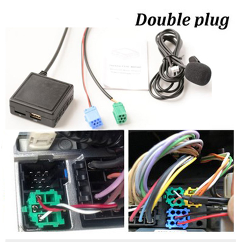 Car Bluetooth Audio High Quality For Renault Bluetooth Audio 55*55*20mm 12V Radio Adapter AUX Brand New