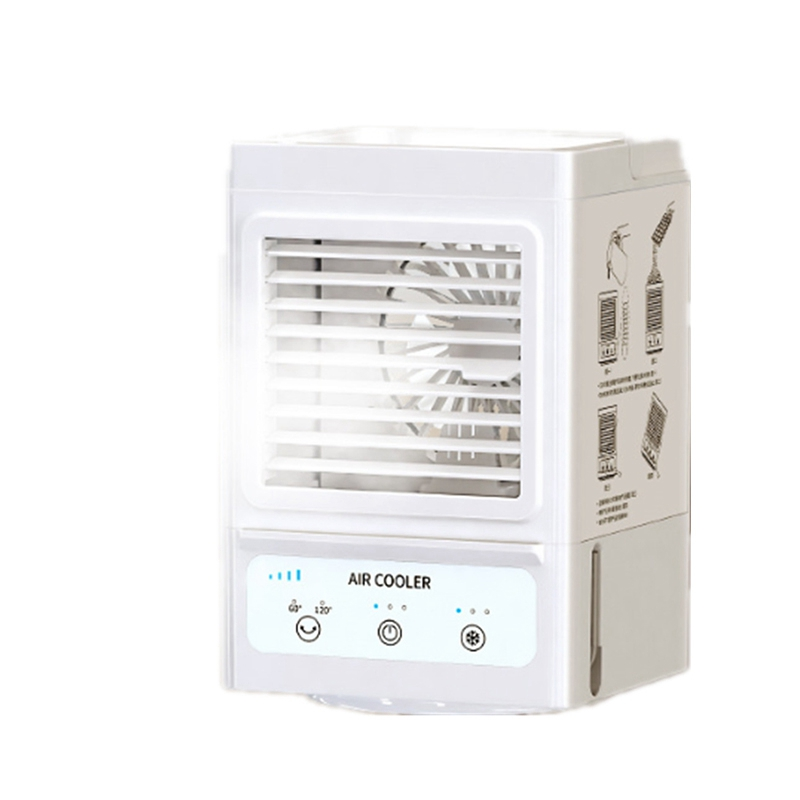 Portable Mini Air Conditioner Rechargeable Battery Auto Oscillation Air Cooler with 3 Wind Speeds,3 Cooling Levels