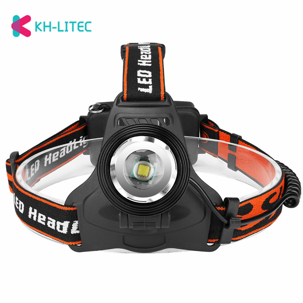 T6 3 Modi Scheinwerfer USB Aufladbare Scheinwerfer Wasserdichte LED Taschenlampe Stirn 0utdoor Camping Reiten Lampe Angeln Licht