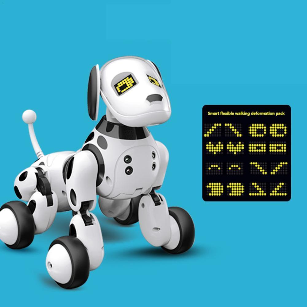 2020 New Remote Control Smart Robot Dog Programable 2.4G Wireless Kids Toy Intelligent Talking Robot Dog Electronic Pet kid Gift 2
