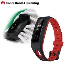 Oryginalny Huawei Honor Band 4 wersja do biegania inteligentna opaska na nadgarstek klamra do butów wpływ na ziemię profesjonalna porada snu Snap