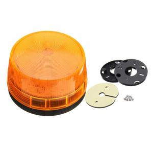 Luz LED de emergencia estroboscópico giratoria para coche, luz de señal de advertencia, luz indicadora DC12V, alarma de seguridad, 1 Uds.