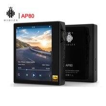 Hidizs-reproductor MP3 AP80 de alta resolución, ES9218P, ultraportátil, Bluetooth, música HIFI sin pérdidas, LDAC, USB, DAC, compatible con DSD 64/128