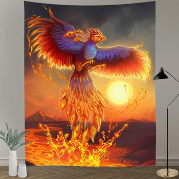 Simsant Psychedelic Shrooms Tapestry Colorful Abstract Trippy Tapestry Wall Hanging Tapestries for Home Dorm Fantasy Decor 24