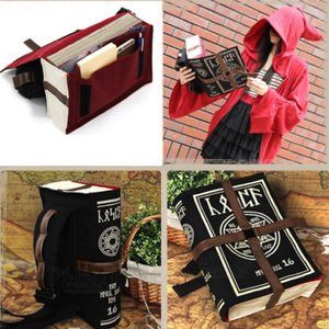 Image 2 - Gothic Magical Spell Book Messenger Crossbody Bag Gift Cosplay Adjustable for Students New