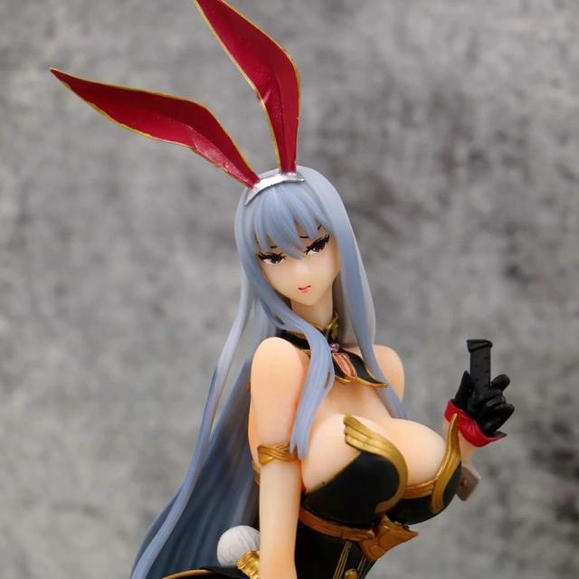 32CM Valkyria Chronicles Selvaria Bles Battle sexy Action Figure PVC Collection Model toys brinquedos for christmas gift