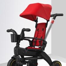 5 в 1 трехколесного велосипеда Детские коляски прицеп ребенка велосипед Педальный трицикл трех для развала-схождения (балансировки велосип...