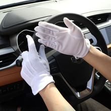 1 Pair Hands Protection Cleaning Auto Repair Working Gloves Drivers Durable Workers Solid Elastic Tools Anti Skid Point Glue