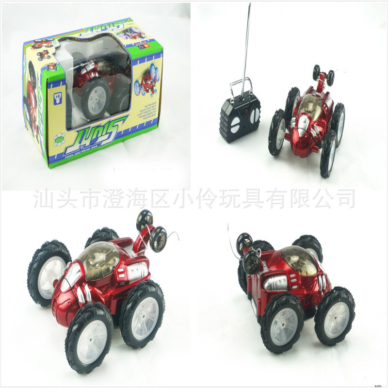 Remote Control Tumbling Stunt Car Dumpers Electric Remote Control Car CHILDREN'S Toy Car With Light And Music Remote-control Aut