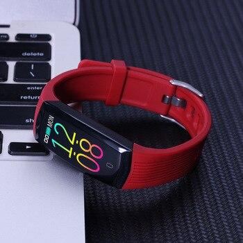 intelligent Bracelet Heart rate blood pressure sleep monitoring call information reminder waterproof exercise meter step