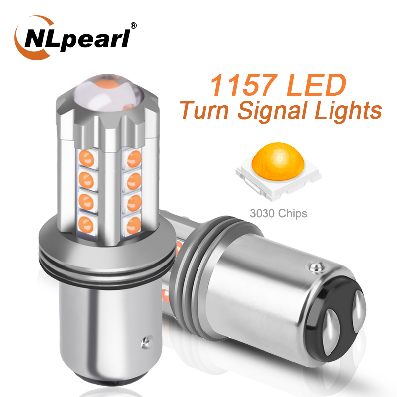 NLpeal 1x сигнальная лампа 1157 Bay15d светодиодный P21/5 Вт автомобильный тормоз резервного копирования светильник 3030SMD 1156 BA15S P21W светодиодный BAU15S PY21W ...