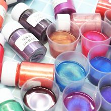 Pigment-Powder Jewelry-Making Colorants Mica Pearl Resin Dye 10-Gram Aurora New