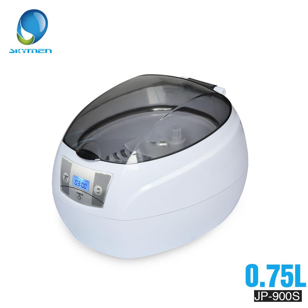 Nettoyeur à ultrasons 0.75L réservoir 35W 42kHz paniers bijoux montres injecteur anneau dentaire PCB numérique ultrasons Mini nettoyeur bain