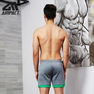 Image 5 - سروال قصير غير رسمي على الموضة من aact للرجال سروال رياضي للركض للتمرين في صالة الألعاب الرياضية سروال قصير ناعم من Homewear AM2209