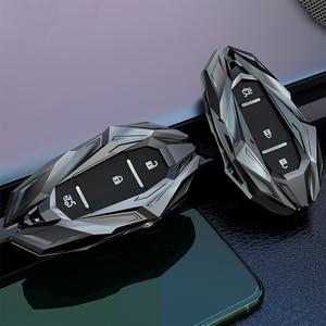 Image 5 - Car Smart Key Case Shell Cover Keychains Fob For Chevrolet Chevy Camaro Cruze Malibu Orlando EquinoxTracker 2017 Car Accessories