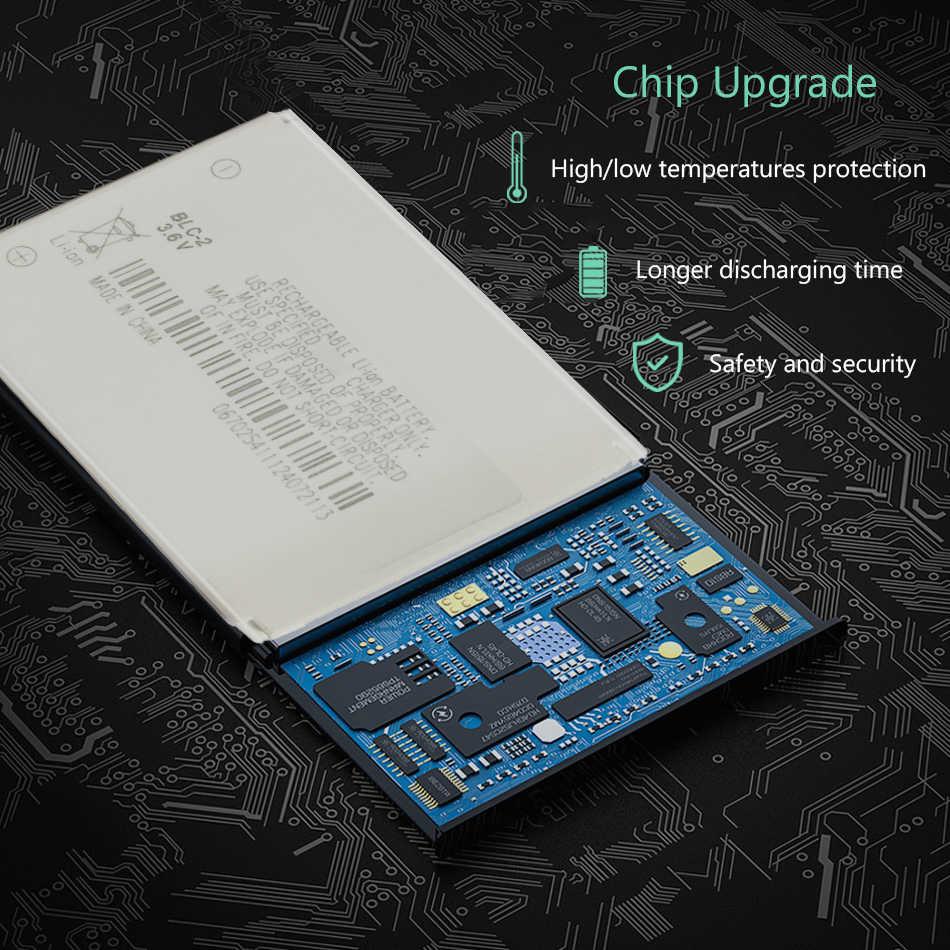 800 MAh BLC-2 BLC2 BLC 2 Pengganti Baterai Ponsel untuk Nokia 3310 3330 3315 3350 3510 6650 6800 3550