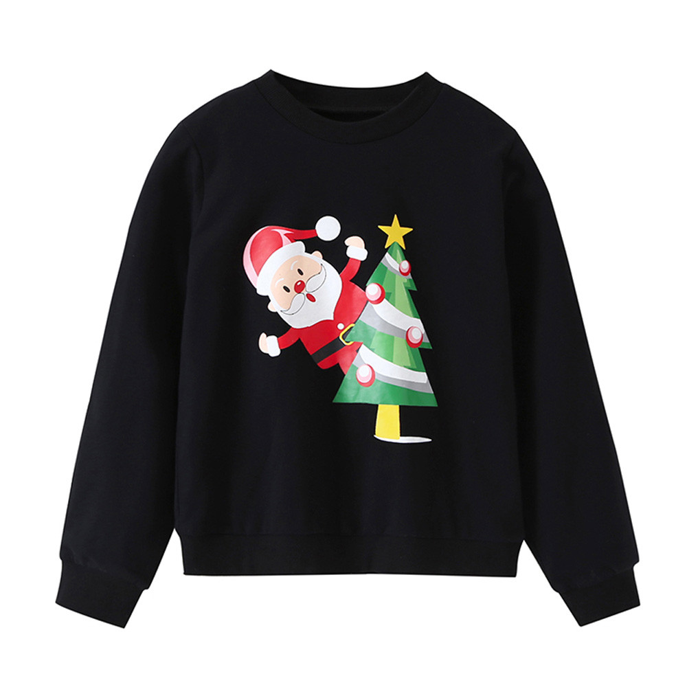 Sweatshirt Pullover Christmas Toddler Baby-Girls Boys Kids Children Autumn Spring