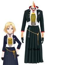 BanG rêve masquage élever un SUILEN Sato Masuki école uniforme tenue Anime personnaliser Cosplay Costumes