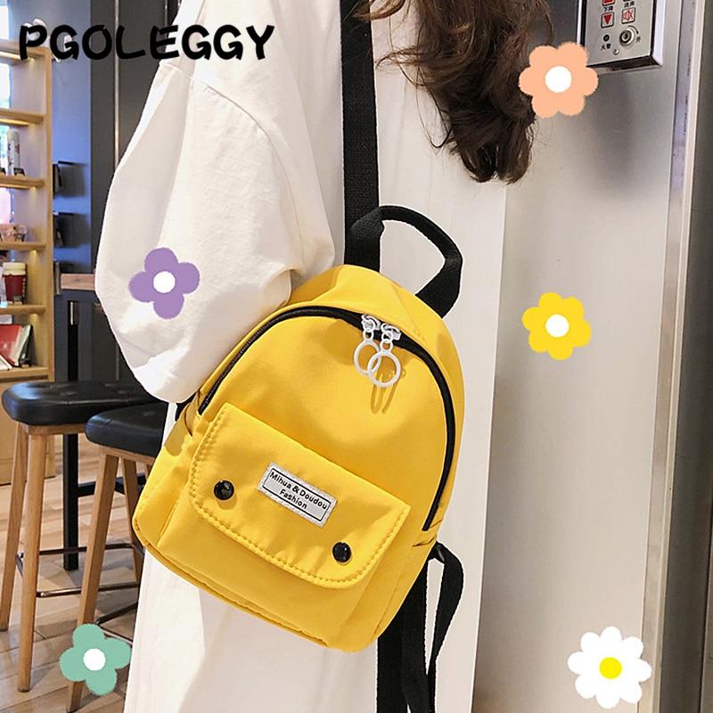 PGOLEGGY New Girl Shoulder Bag Cartoon Backpack Fashion Small Diagonal School Bag Children Cute Small Backpack For Girls