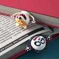 3D креативный ПВХ материал стерео мультфильм маркер стиль животных закладки милый кот смешные школьные канцелярские принадлежности для дет...